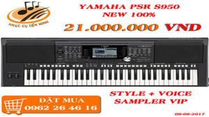 Yamaha psr s950 mới nguyên thùng giá rẻ - tặng kèm sampler vip