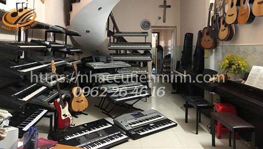Nơi bán đàn organ cũ giá rẻ tại Quận 12 Tphcm?