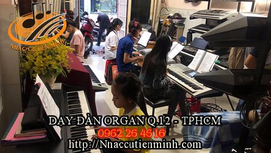 Lớp học đàn organ đường Nguyễn Văn Quá - q12 - Tphcm | 0962264616