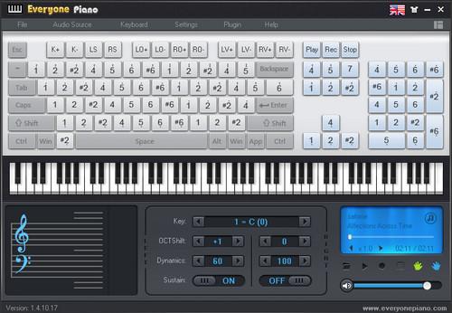 Những phần mềm mô phỏng đàn Organ