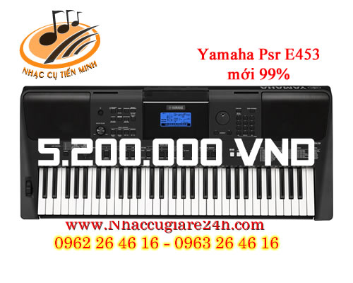 Đàn Organ Yamaha PSR E433 đã qua sử dụng
