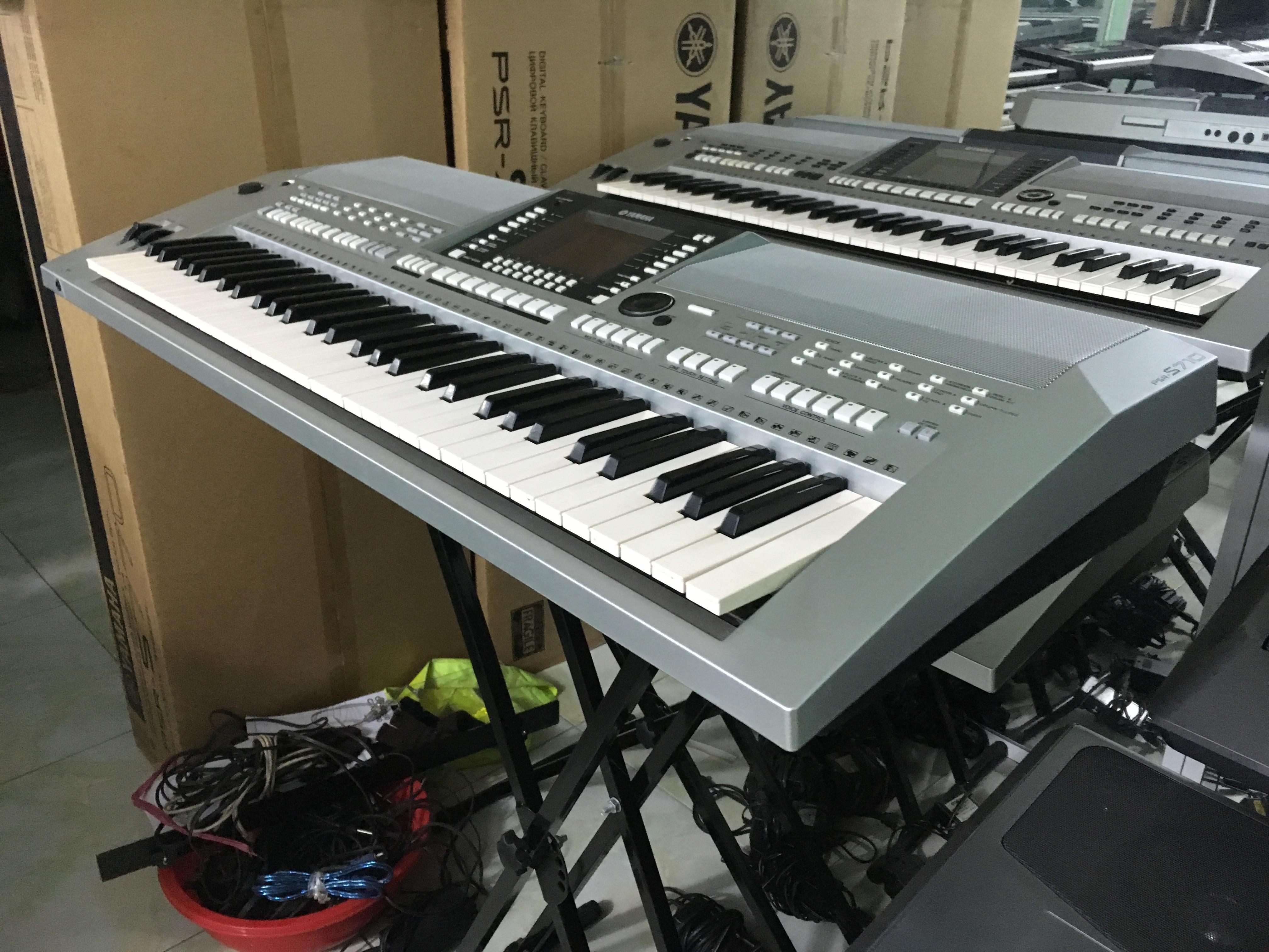 bán Đàn Organ YAMAHA PSR S710 đã qua sử dụng giá rẻ
