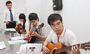 Đào tạo Nhạc công tại TPHCM