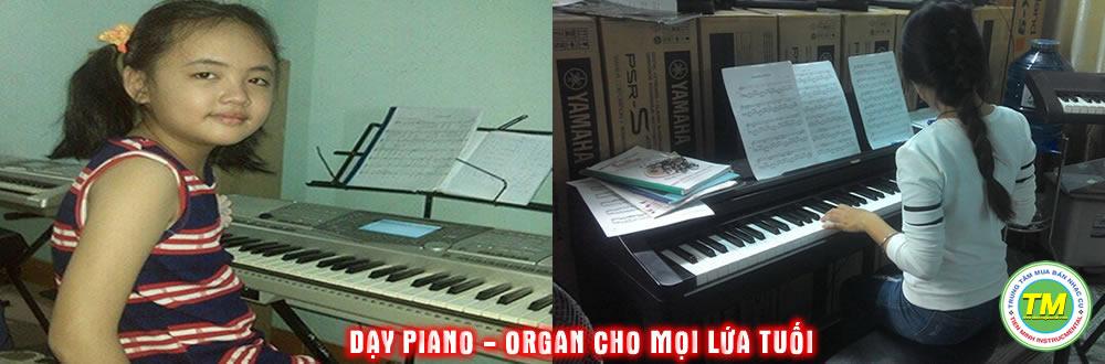 DẠY ĐÀN ORGAN - PIANO CƠ BẢN ĐẾN NÂNG CAO