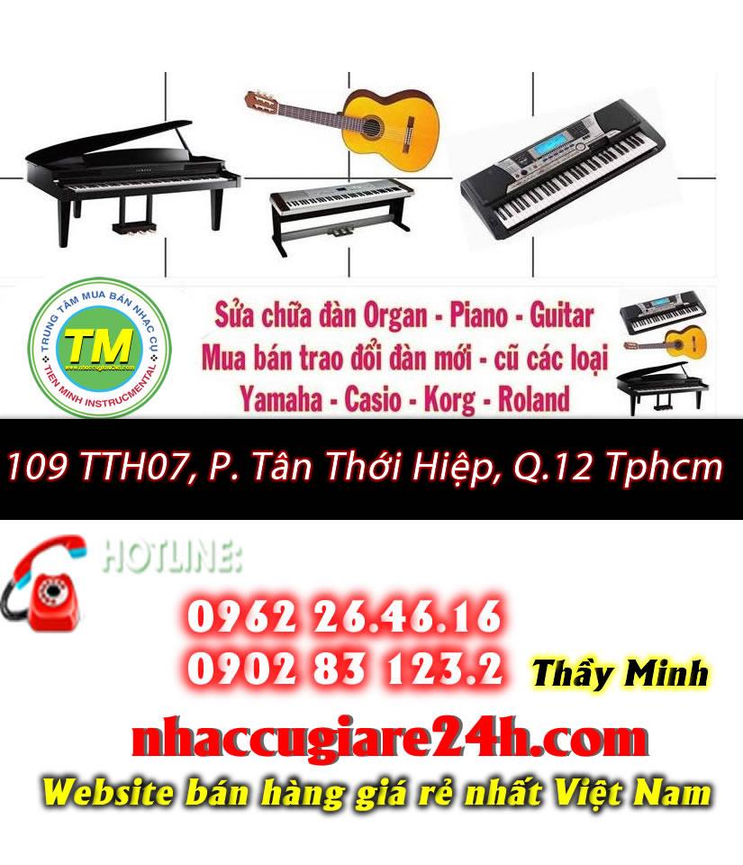 Sửa đàn organ tại Quận 12 Tphcm - 0962264616 A.Minh
