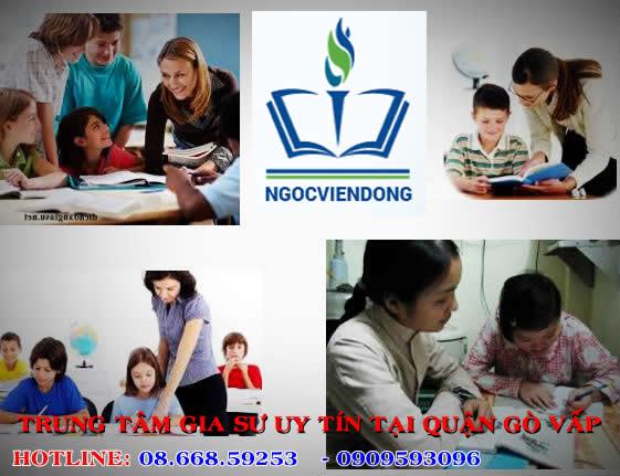 Gia sư dạy kèm tại Quận Gò Vấp   Ngọc Viễn Đông 0909593096